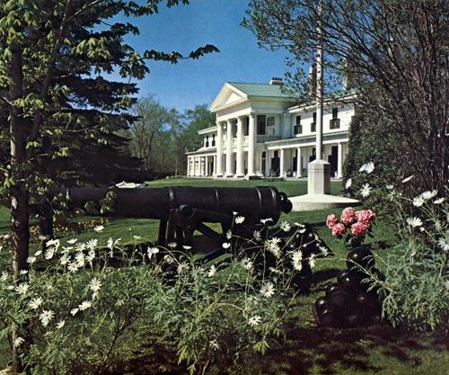 La villa du Bois-de-Coulonge vers 1962