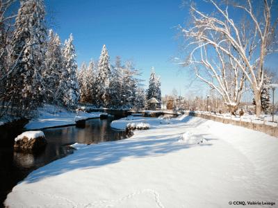 Bienfaits de la marche en hiver à Québec