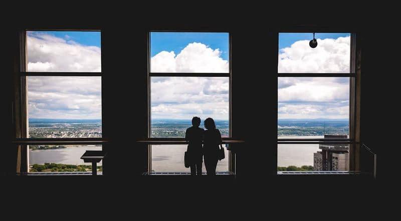 Vue de l'Observatoire de la Capitale