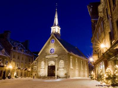 Place-Royale à Québec, quartier du Petit-Champlain