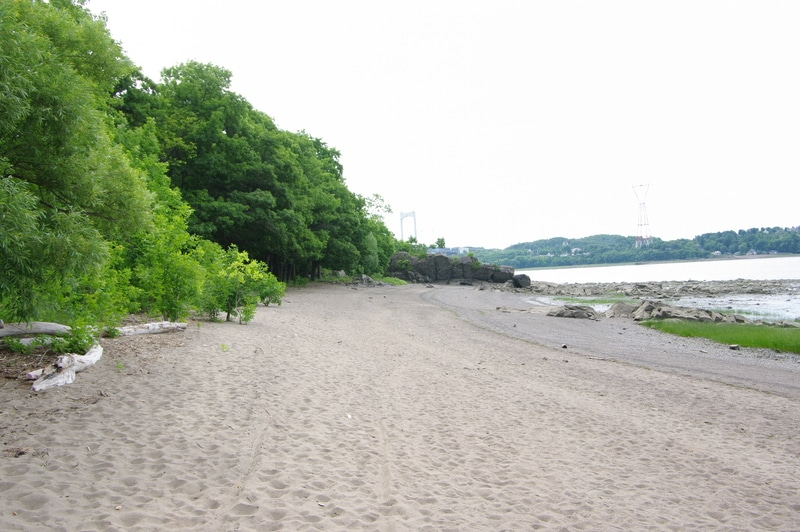 Plage Gagnon Quebec Sentier des Greves