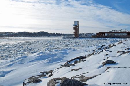 Activité d'hiver à Québec : Promenade Samuel-De Champlain