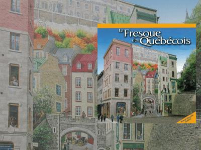 La Fresque des Québécois   Livre à collectionner