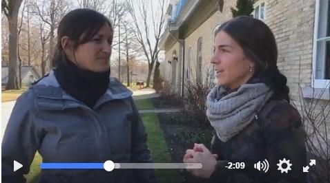 Entrevue Chantale Costello, parc du Bois-de-Coulonge